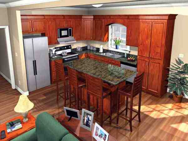 European, Traditional House Plan 59099 with 3 Beds, 2 Baths, 2 Car Garage Picture 1