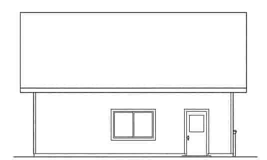 Traditional 2 Car Garage Plan 59444 Picture 1