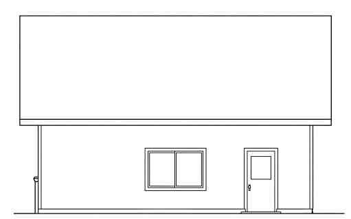 Traditional 2 Car Garage Plan 59444 Picture 2