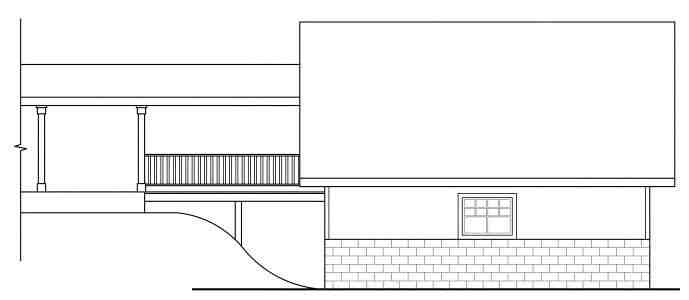 Cottage, Craftsman, Traditional 2 Car Garage Plan 59450 Picture 1