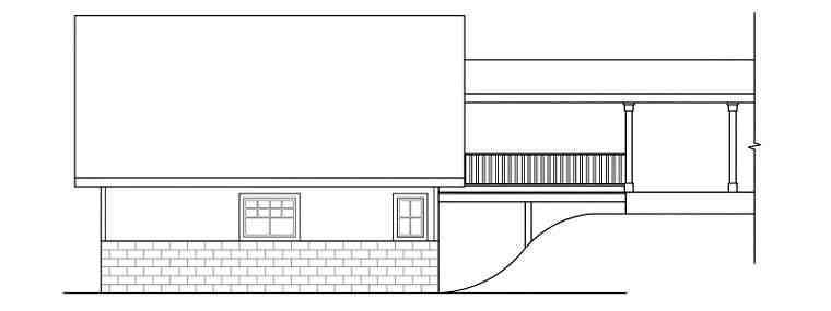 Cottage, Craftsman, Traditional 2 Car Garage Plan 59450 Picture 2