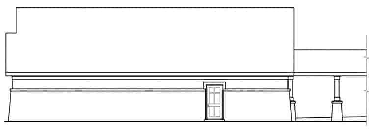 European, Traditional 3 Car Garage Apartment Plan 59451 Picture 1