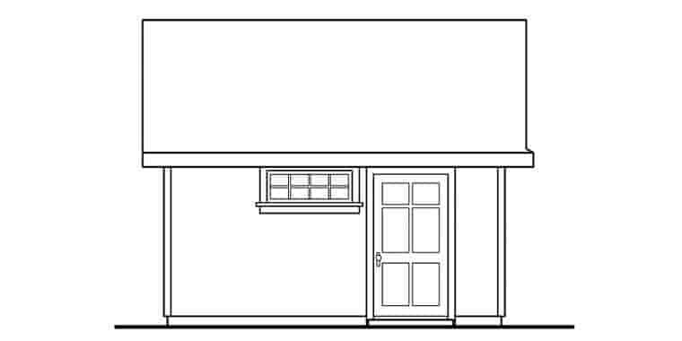 Craftsman 0 Car Garage Plan 59454 Picture 1
