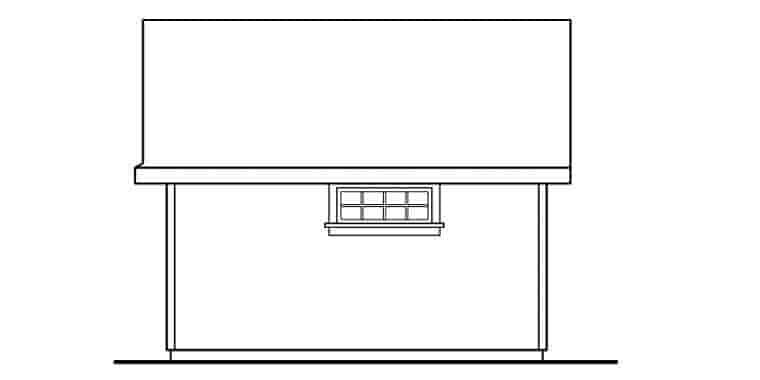 Craftsman 0 Car Garage Plan 59454 Picture 2