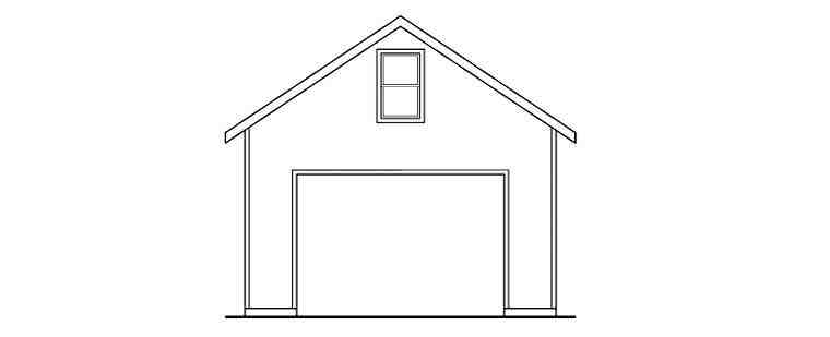 Country 3 Car Garage Plan 59455 Picture 2