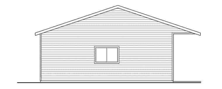 Traditional 6 Car Garage Plan 59460 Picture 1