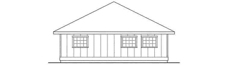 Traditional 3 Car Garage Plan 59470 Picture 1