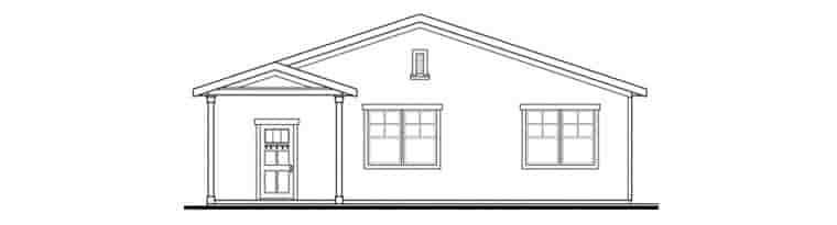 Craftsman 6 Car Garage Plan 59480 Picture 1