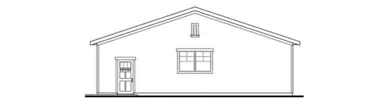 Craftsman 6 Car Garage Plan 59480 Picture 2