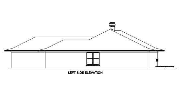 Contemporary, Prairie, Southwest House Plan 65606 with 4 Beds, 4 Baths, 3 Car Garage Picture 1