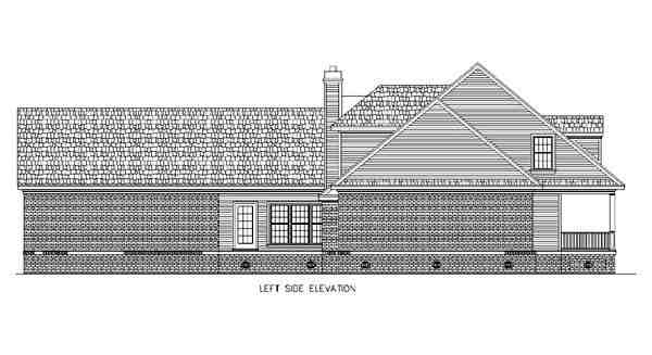 Cape Cod, Country House Plan 65663 with 4 Beds, 4 Baths, 2 Car Garage Picture 1