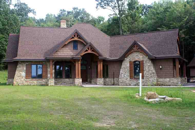 Cottage, Craftsman, Tuscan House Plan 65862 with 3 Beds, 3 Baths, 2 Car Garage Picture 16