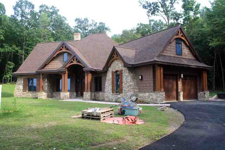 Cottage, Craftsman, Tuscan House Plan 65862 with 3 Beds, 3 Baths, 2 Car Garage Picture 18