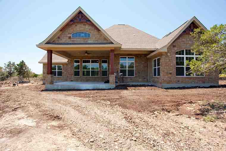 Cottage, Craftsman, Tuscan House Plan 65869 with 3 Beds, 3 Baths, 3 Car Garage Picture 10