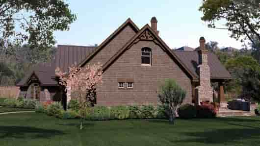 Cottage, Craftsman, Tuscan House Plan 65869 with 3 Beds, 3 Baths, 3 Car Garage Picture 3