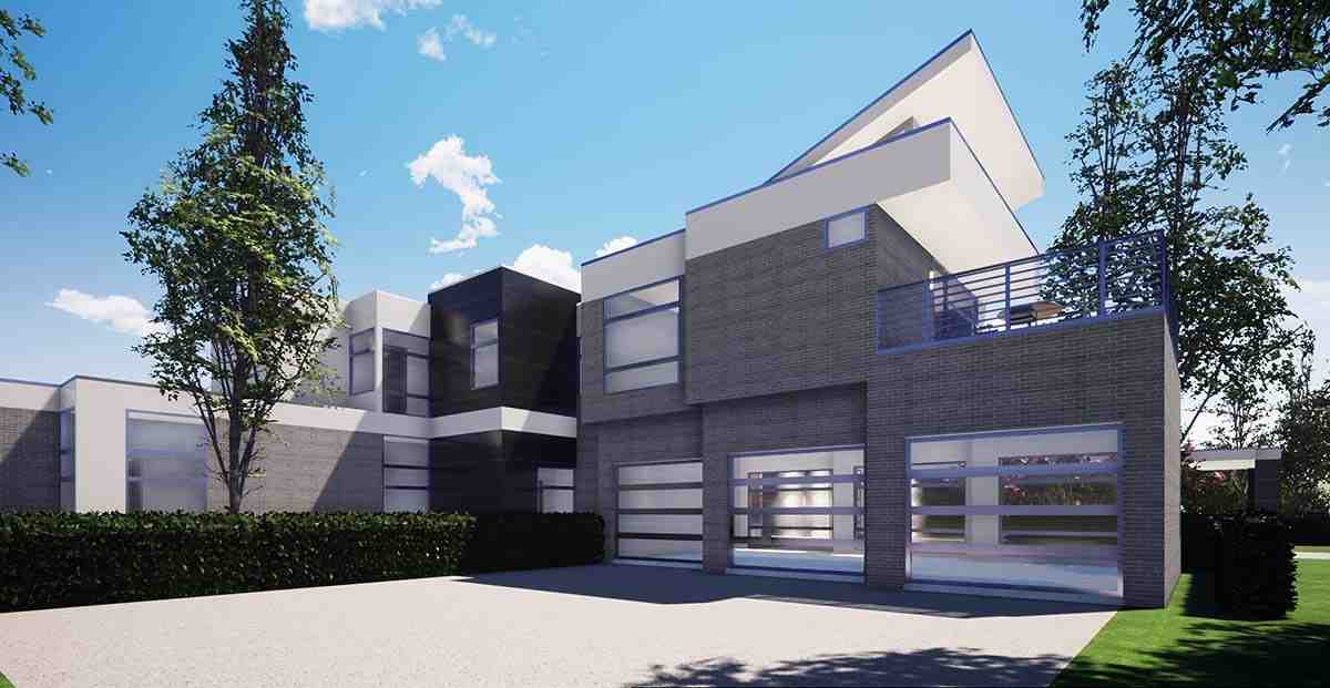 Coastal, Contemporary, Modern House Plan 70855 with 7 Beds, 9 Baths, 4 Car Garage Picture 2