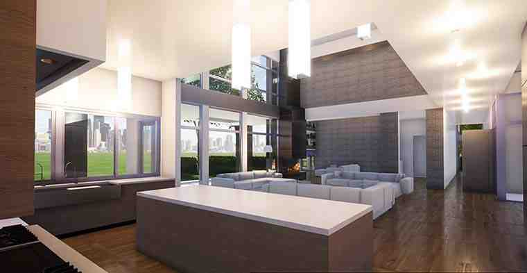 Coastal, Contemporary, Modern House Plan 70855 with 7 Beds, 9 Baths, 4 Car Garage Picture 5