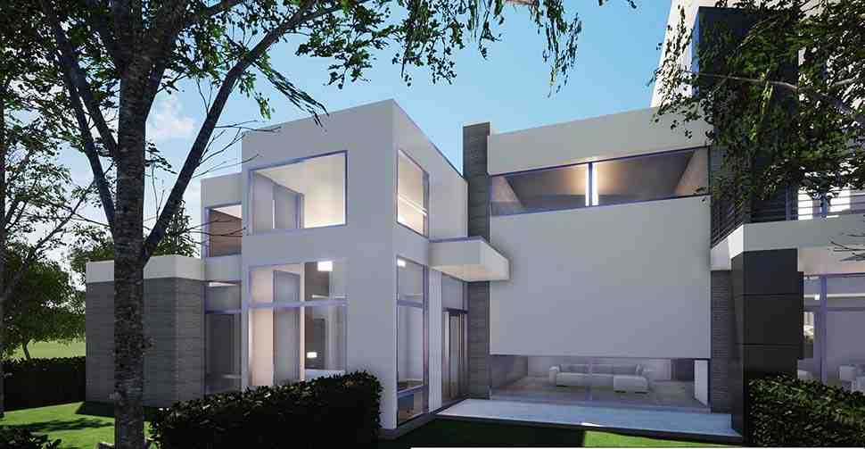 Coastal, Contemporary, Modern House Plan 70855 with 7 Beds, 9 Baths, 4 Car Garage Picture 7