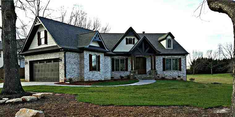 House Plan 72136 with 3 Beds, 3 Baths, 2 Car Garage Picture 4