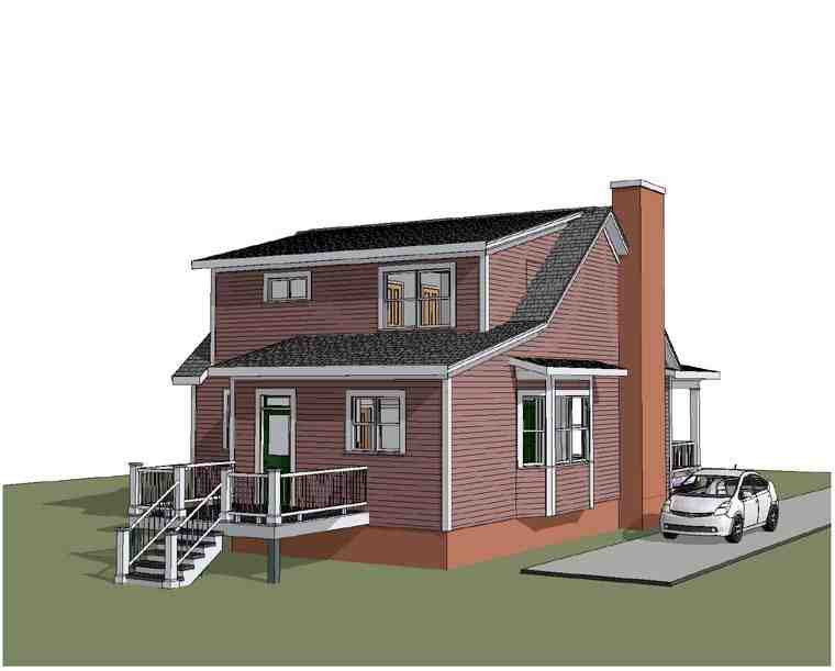 Bungalow House Plan 72750 with 3 Beds, 3 Baths Picture 1