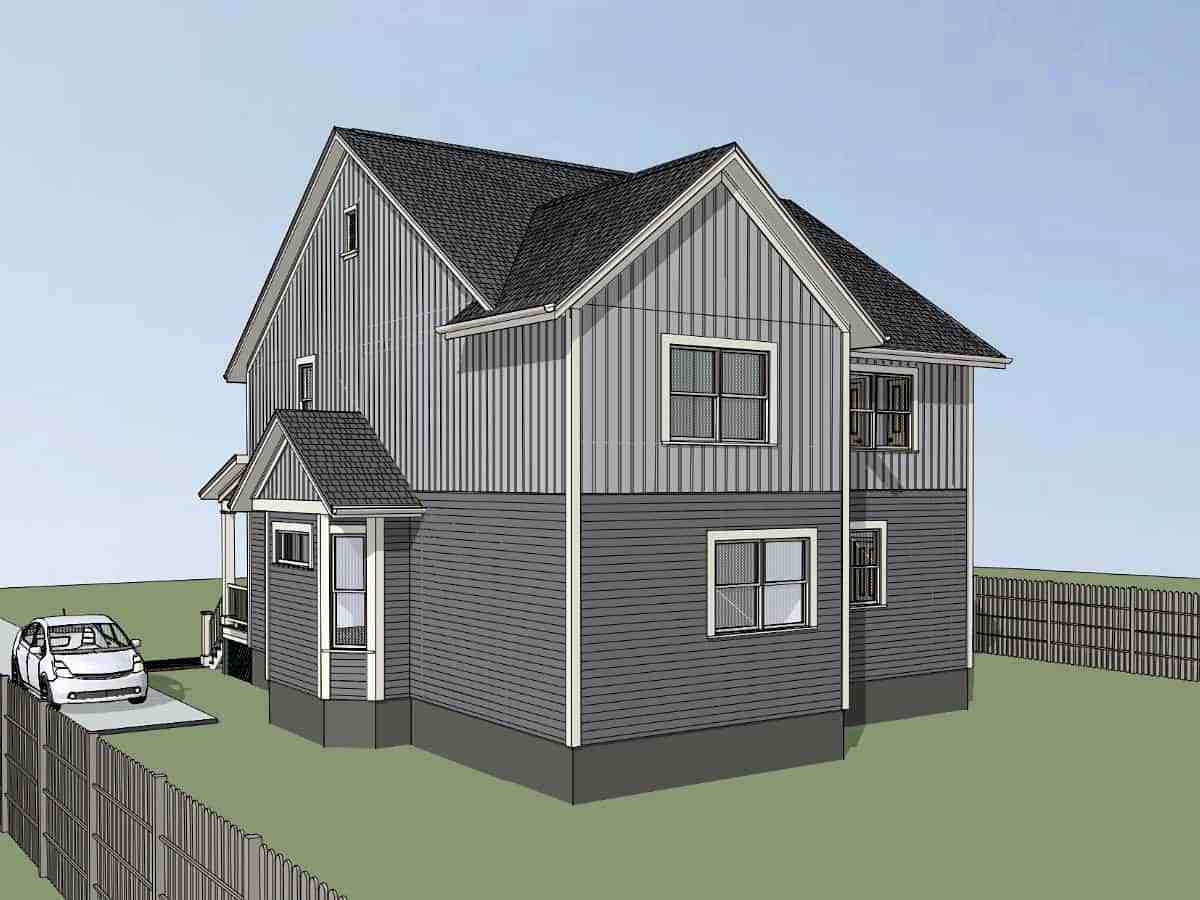 Bungalow Multi-Family Plan 72778 with 6 Beds, 4 Baths Picture 1