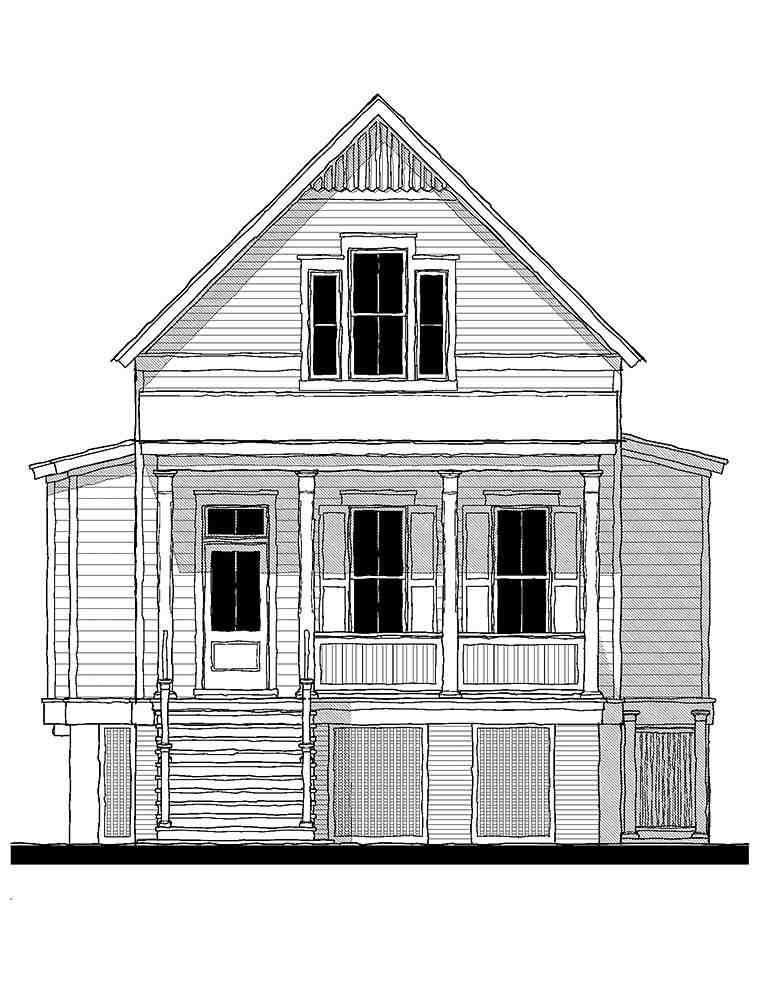 Coastal, Country, Southern, Traditional House Plan 73947 with 3 Beds, 3 Baths Picture 1
