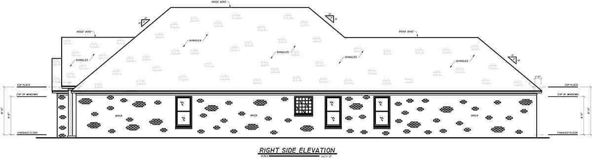 Craftsman, Narrow Lot, Traditional House Plan 74654 with 4 Beds, 3 Baths, 2 Car Garage Picture 1