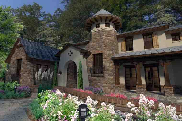 Craftsman, Tuscan House Plan 75132 with 3 Beds, 4 Baths, 2 Car Garage Picture 5