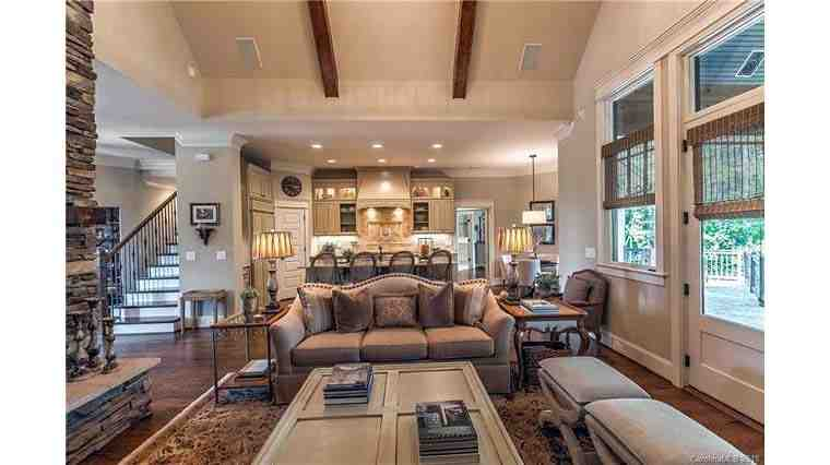 Cottage, Craftsman, Tuscan House Plan 75134 with 4 Beds, 4 Baths, 2 Car Garage Picture 9