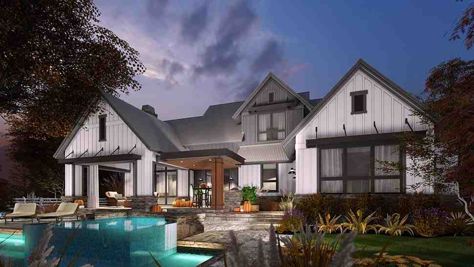 Country, Farmhouse House Plan 75165 with 3 Beds, 3 Baths, 2 Car Garage Picture 7