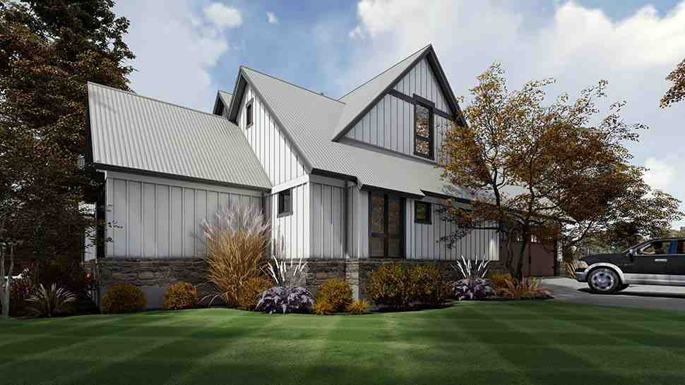 Country, Farmhouse House Plan 75165 with 3 Beds, 3 Baths, 2 Car Garage Picture 8