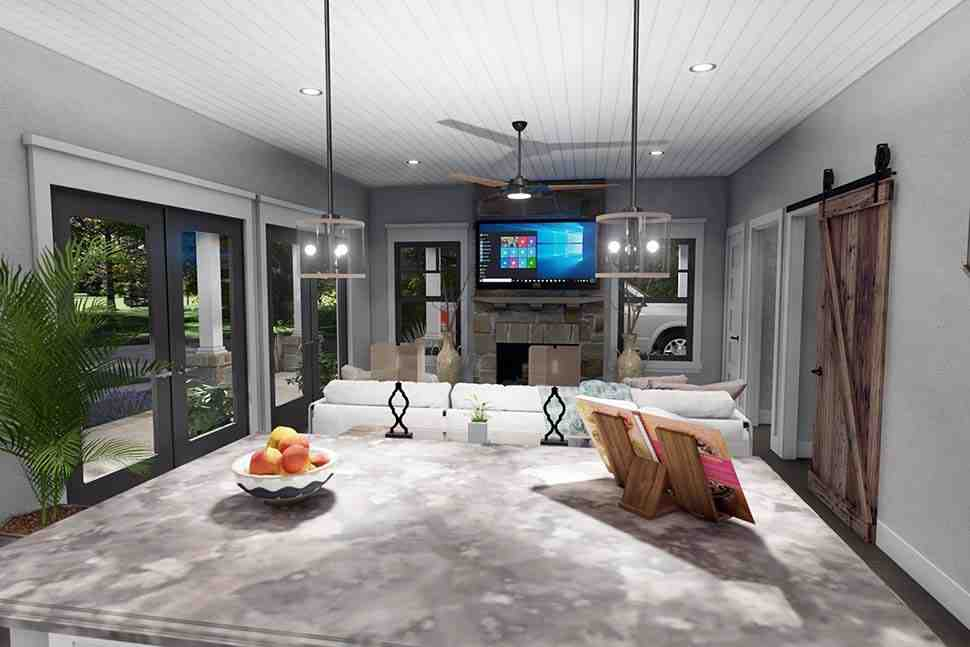 Cottage, Farmhouse House Plan 75170 with 3 Beds, 2 Baths Picture 8