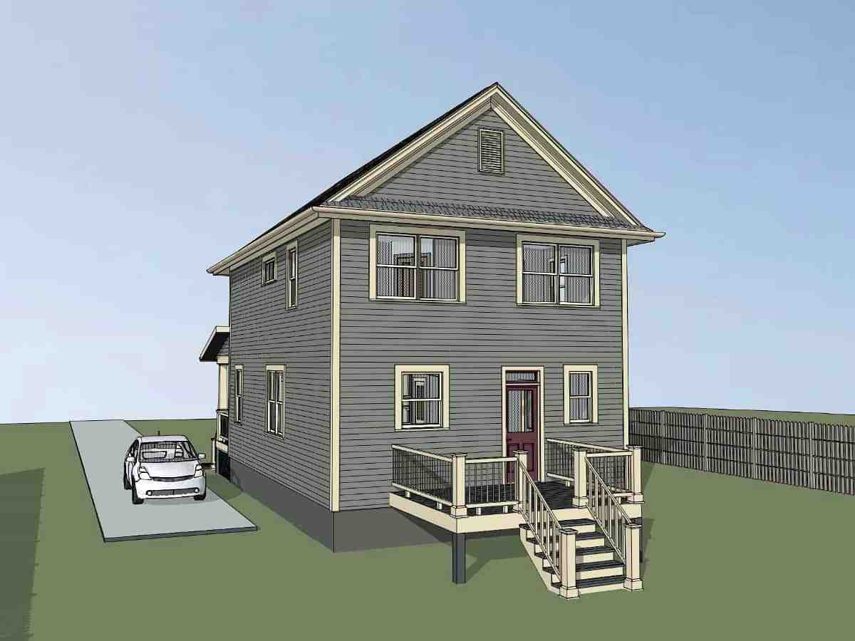 Colonial, Country House Plan 75553 with 3 Beds, 3 Baths Picture 1