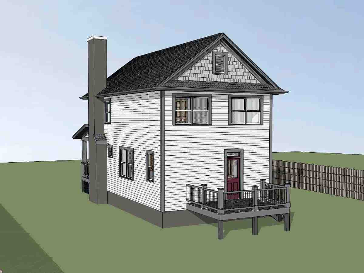Colonial, Country, Southern House Plan 75563 with 3 Beds, 3 Baths Picture 1