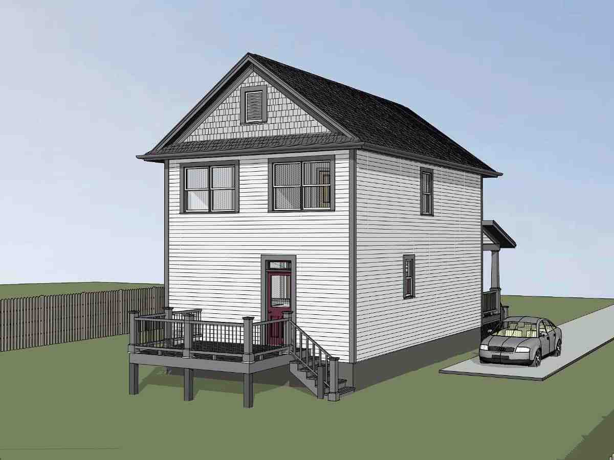 Colonial, Country, Southern House Plan 75563 with 3 Beds, 3 Baths Picture 2