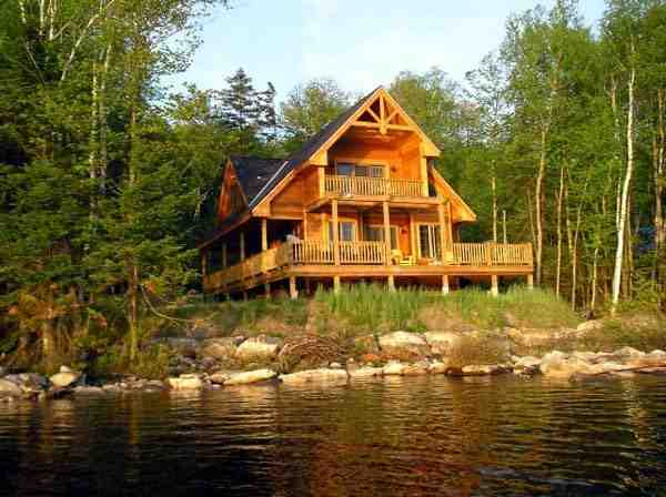 Cabin, Contemporary House Plan 76012 with 3 Beds, 2 Baths Picture 6