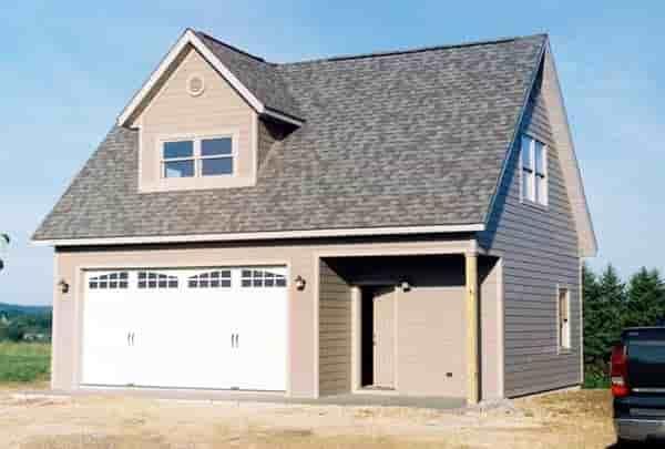2 Car Garage Plan 76013 Picture 1