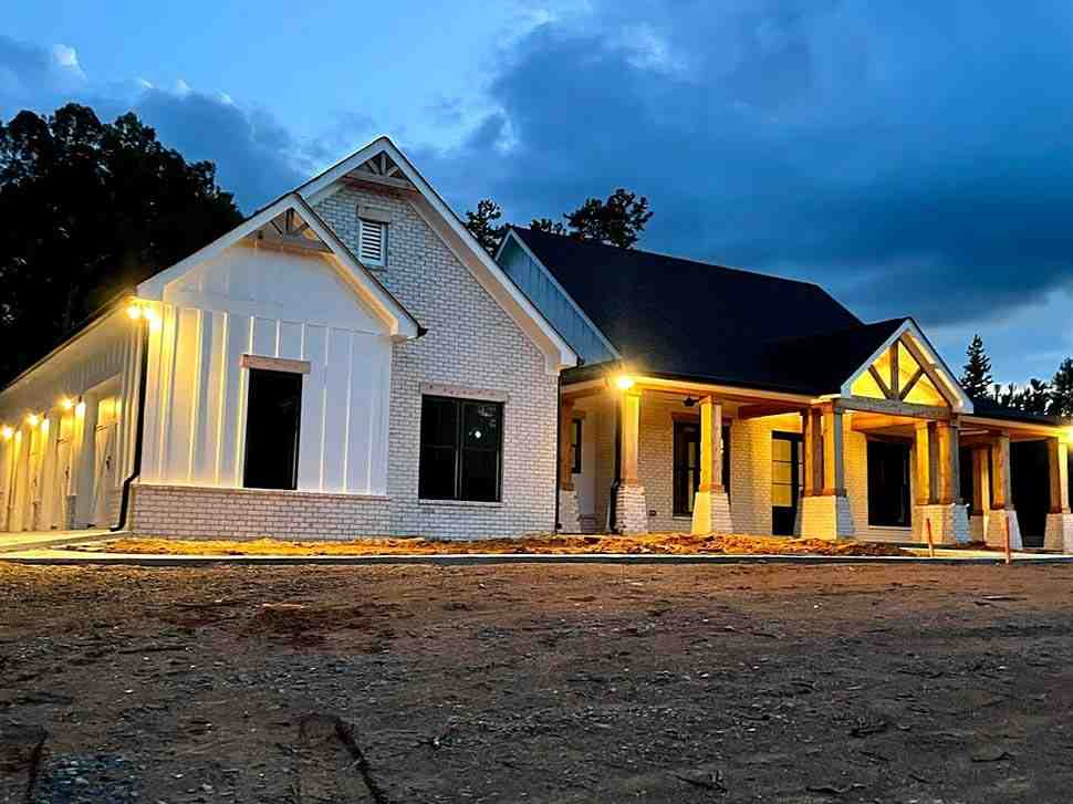 Country, Farmhouse, Traditional House Plan 80801 with 3 Beds, 3 Baths, 3 Car Garage Picture 10