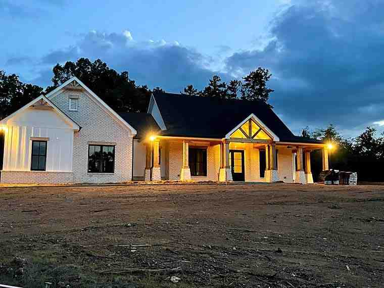 Country, Farmhouse, Traditional House Plan 80801 with 3 Beds, 3 Baths, 3 Car Garage Picture 6