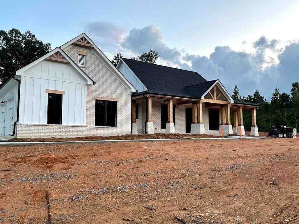 Country, Farmhouse, Traditional House Plan 80801 with 3 Beds, 3 Baths, 3 Car Garage Picture 7