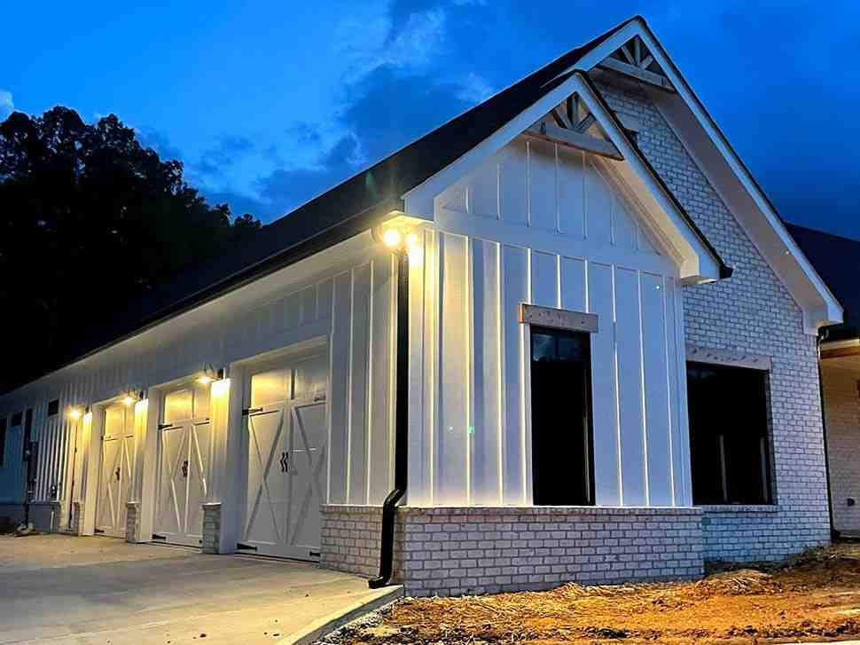 Country, Farmhouse, Traditional House Plan 80801 with 3 Beds, 3 Baths, 3 Car Garage Picture 9