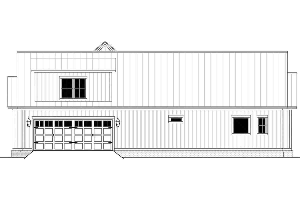 Country, Craftsman, Farmhouse, Traditional House Plan 80833 with 3 Beds, 3 Baths, 2 Car Garage Picture 1