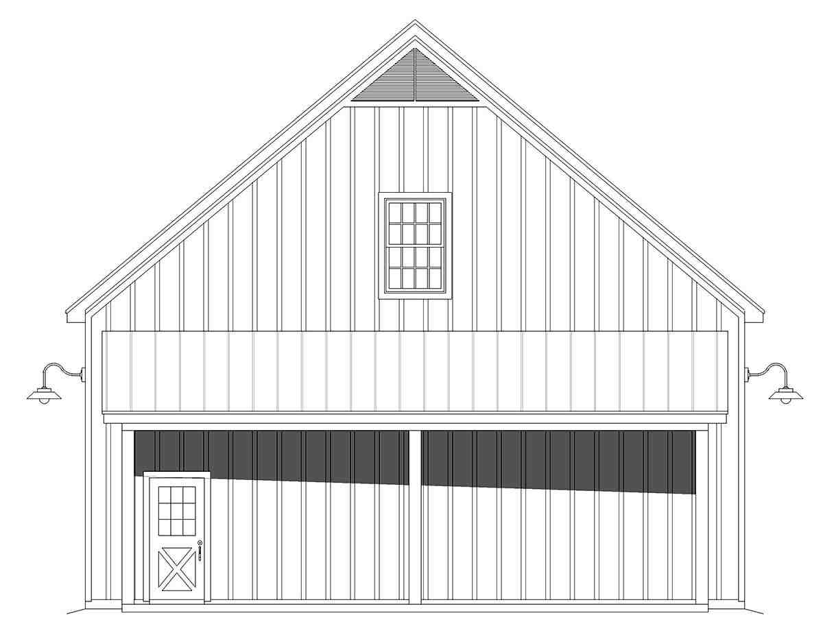 Country, Farmhouse, Ranch, Traditional 3 Car Garage Plan 80914 Picture 1
