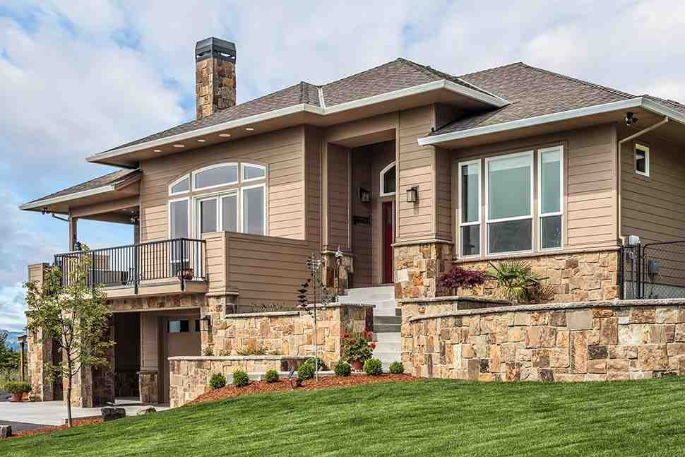 Coastal, Contemporary, Prairie House Plan 81264 with 3 Beds, 3 Baths, 2 Car Garage Picture 4