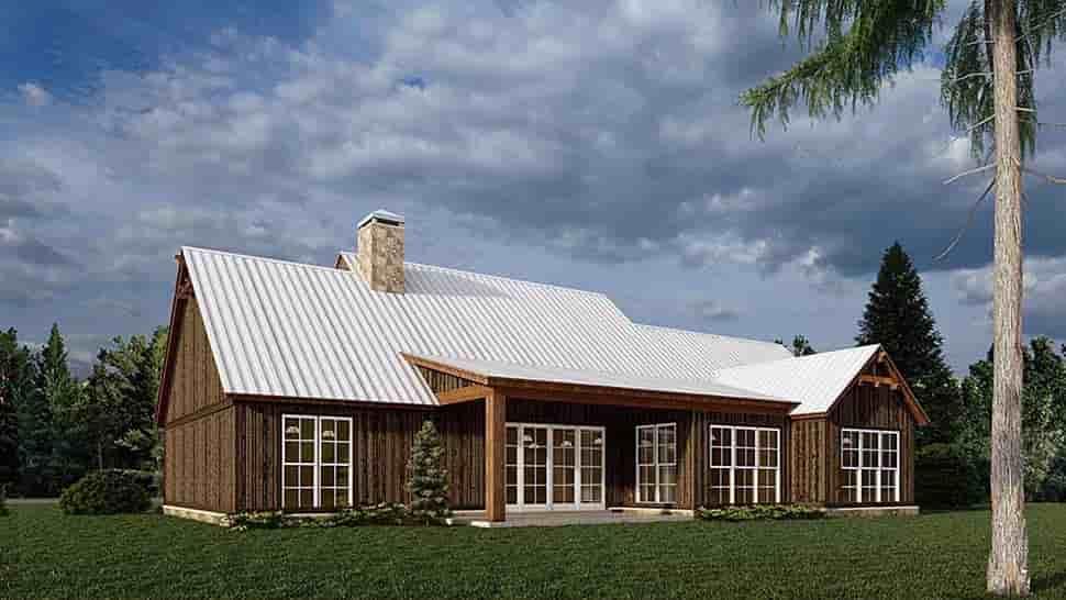 Bungalow, Craftsman, Farmhouse House Plan 82584 with 4 Beds, 3 Baths, 3 Car Garage Picture 3