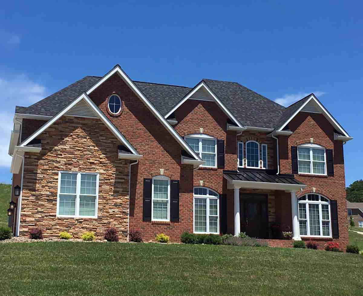 Colonial, European, Traditional House Plan 83054 with 5 Beds, 4 Baths, 3 Car Garage Picture 1