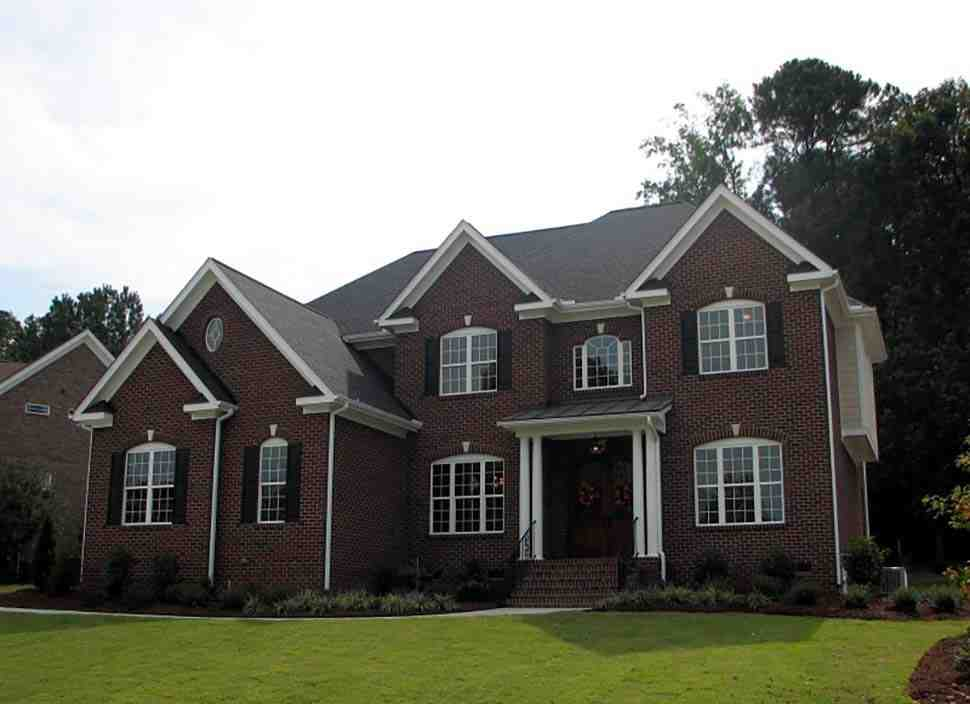 Colonial, European, Traditional House Plan 83054 with 5 Beds, 4 Baths, 3 Car Garage Picture 2