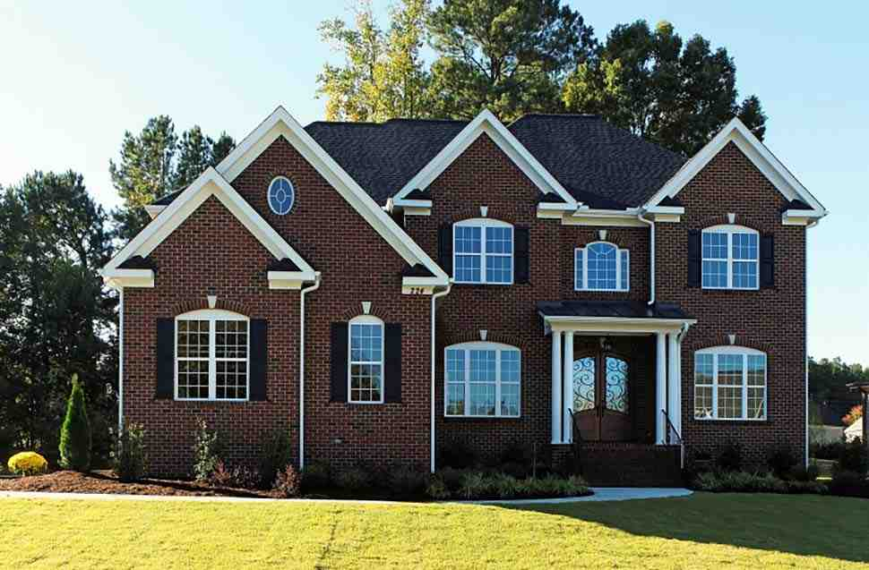 Colonial, European, Traditional House Plan 83054 with 5 Beds, 4 Baths, 3 Car Garage Picture 3