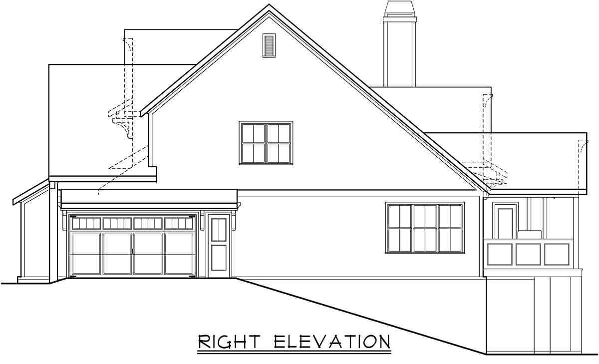 Cottage, Farmhouse, Traditional House Plan 83138 with 4 Beds, 4 Baths, 2 Car Garage Picture 1