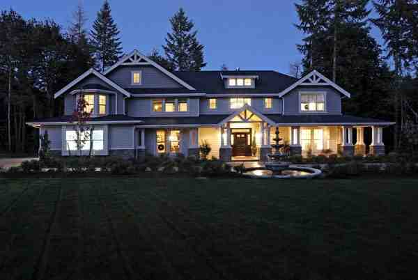 Craftsman House Plan 87669 with 4 Beds, 4 Baths, 4 Car Garage Elevation